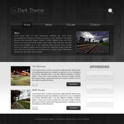 Product picture Dark Theme by Flow Graphic