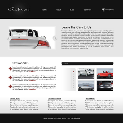 Product picture The Cars Palace by Flow Graphic